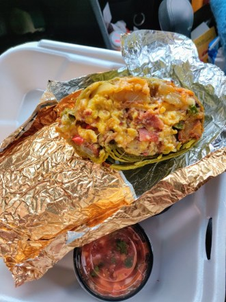Goldy's Breakfast Bistro Burrito