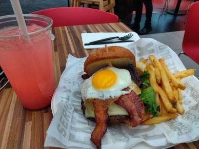 Rock and Brews Burger at LAX