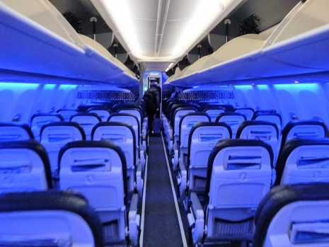 Alaska Economy Cabin to New York