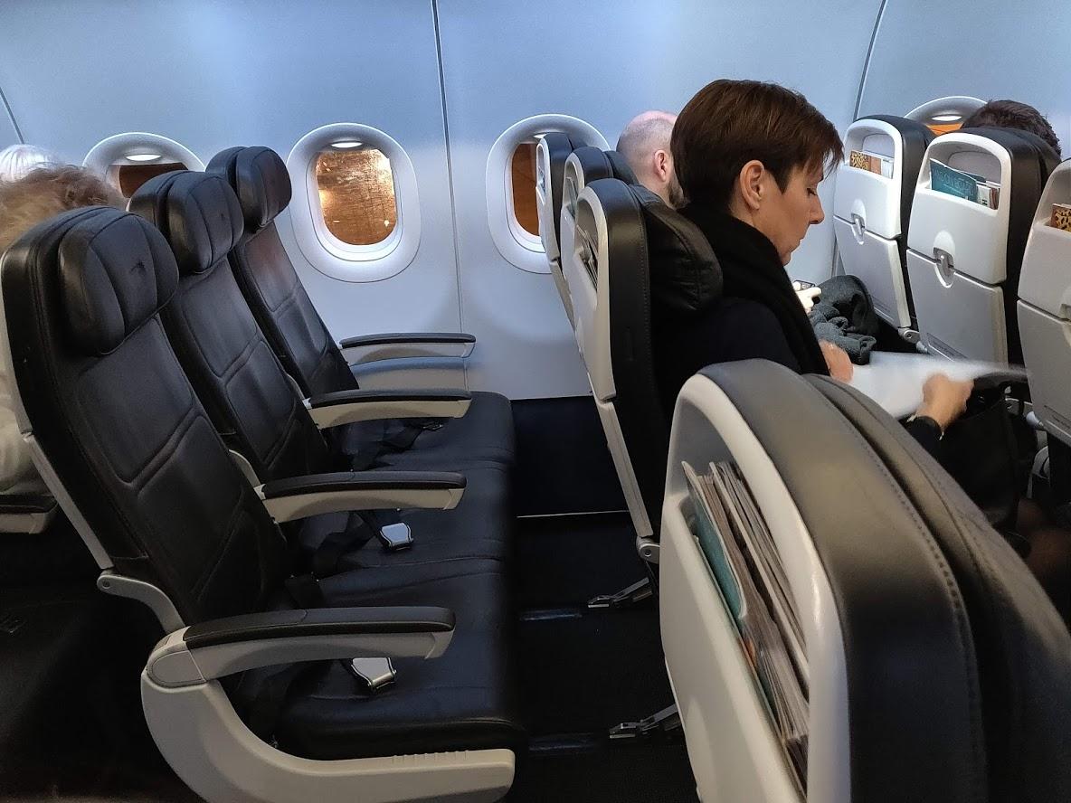 Euro Traveler Seat British Airways Economy Copenhagen to London Heathrow