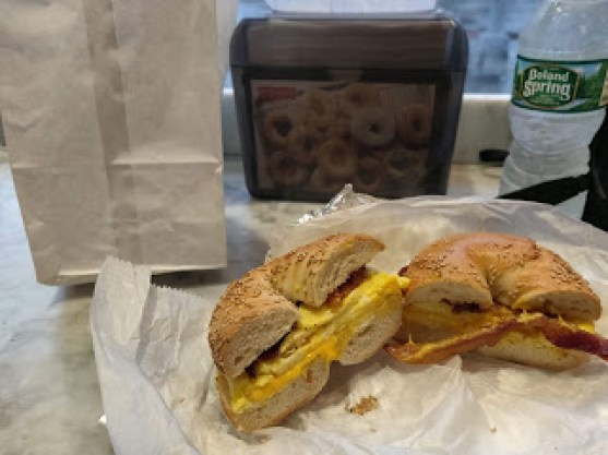 Kossar's Bagels and Bialys Bagel Sandwich