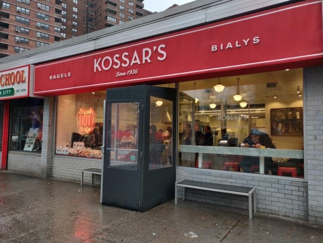Kossar's Bagels and Bialys Exterior