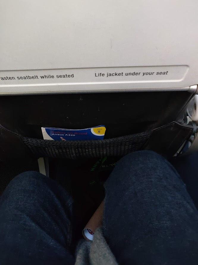 Euro Traveler Seat Legroom British Airways Economy Copenhagen to London Heathrow