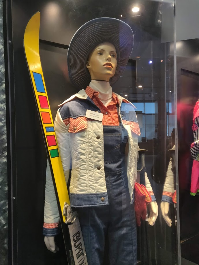 I guess this is what you wear skiing in texas? Alf Engen Ski Museum Olympic Park