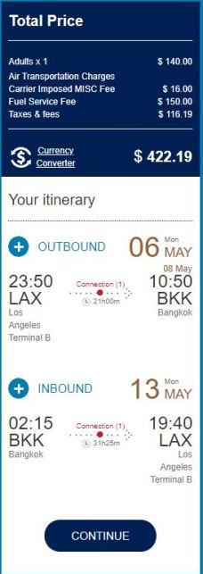 Thailand Deal China Southern Screenshot