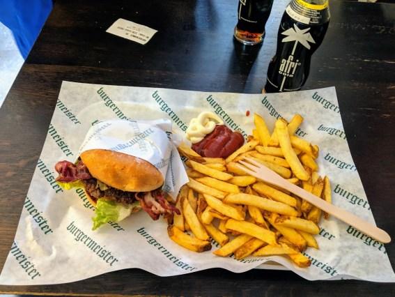 Burgermeister BBQ Burger