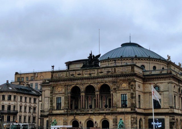 Royal Danish Theater. Copenhagen Walking Tour
