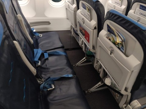 Croatia Airlines Economy Seats