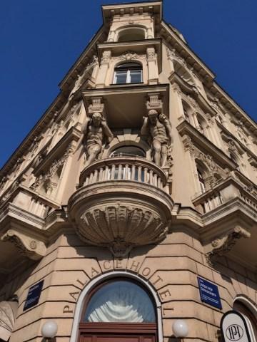 Palace Hotel Zagreb Facade