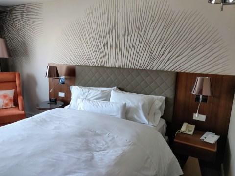 Westin Zagreb Bed