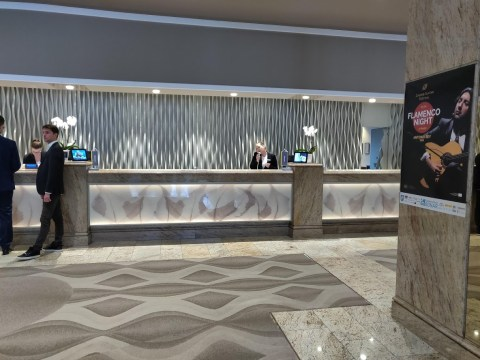 Westin Zagreb Check-In
