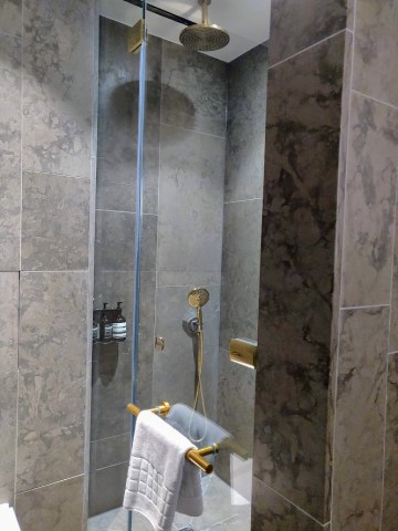 Cathay Pacific First Class Shower Room 2