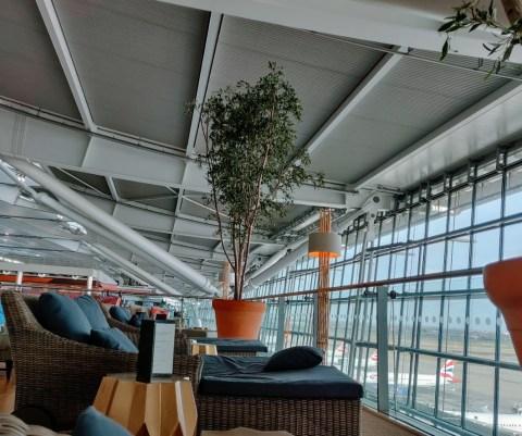 Concorde Room Terrace Lounge