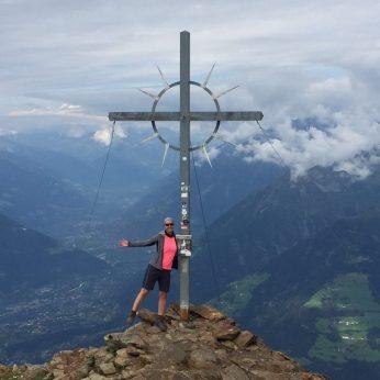 Bea Gipfelkreuz Hirzer