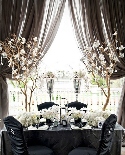 Elegant Table Settings For Weddings White And Pink Setting With