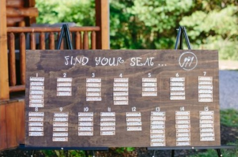 15 Alternative Unique Seating Plans Here At Bespoke Bride
