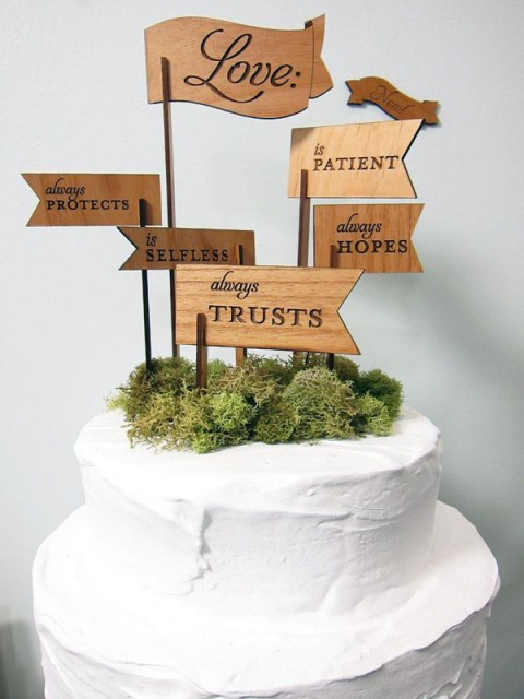 71 Unique Wedding Cake Toppers   HappyWedd com by Mia