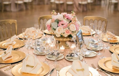 Indian Wedding Reception Decor Pink Gold Lighting Fl In San Jose California By