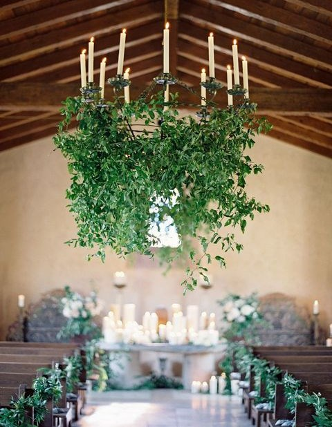 105 Greenery And Fl Chandeliers For Your Wedding