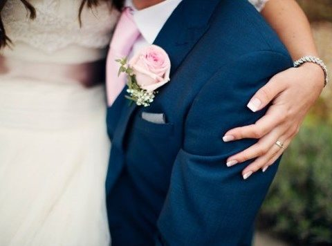34 Elegant Navy And Blush Wedding Ideas