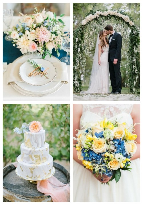 9 Summer Wedding Color Combos And 27 Ideas