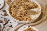 Gluten-free dairy-free Apple Betty