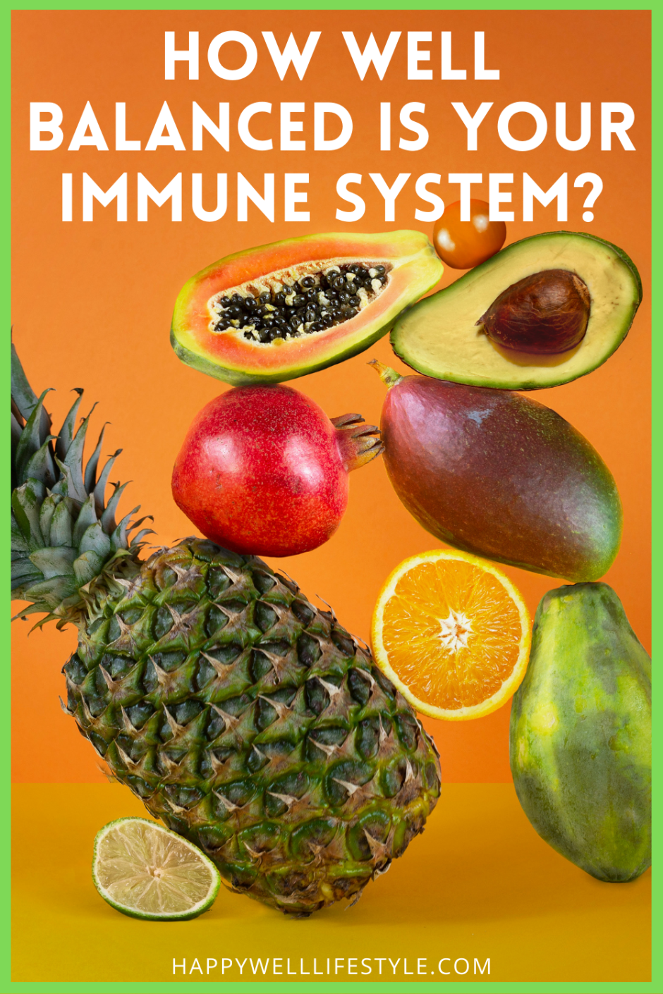 How Well Balanced is your immune system?