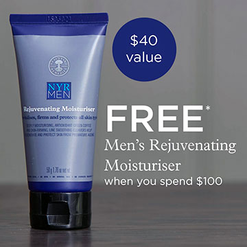 FREE NYR Organic Men's Moisturizer with $100 purchase