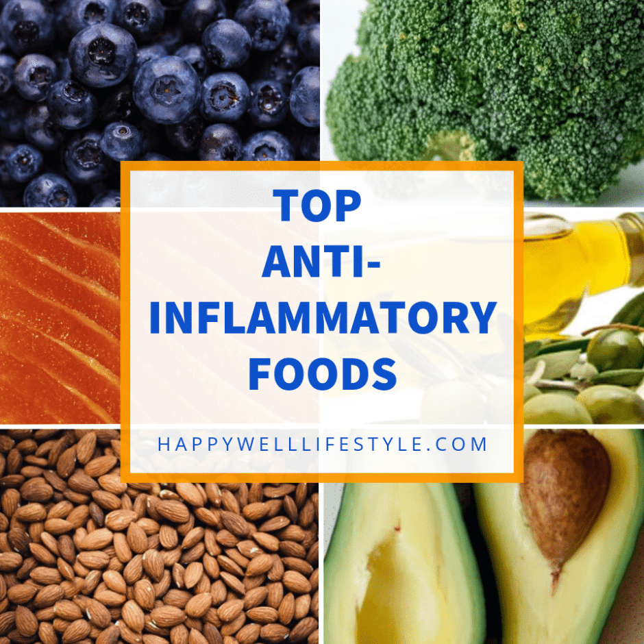 Top Anti-Inflammatory Foods, Happy Well Lifestyle