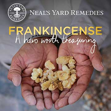 Neal's Yard Remedies Project Frankincense, https://us.nyrorganic.com/shop/heidihackler/area/project-frankincense