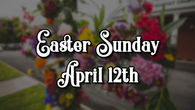 Easter Sunday 2020 events