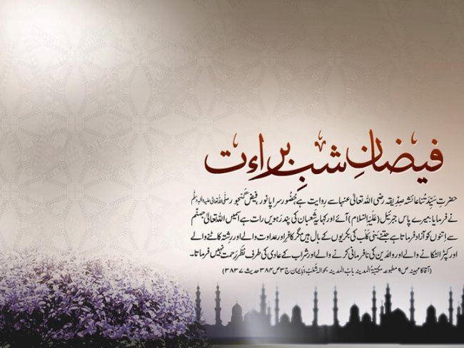 Shab e Barat Mubarak Images