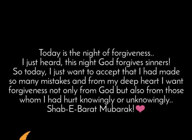 Shab e Barat Greetings