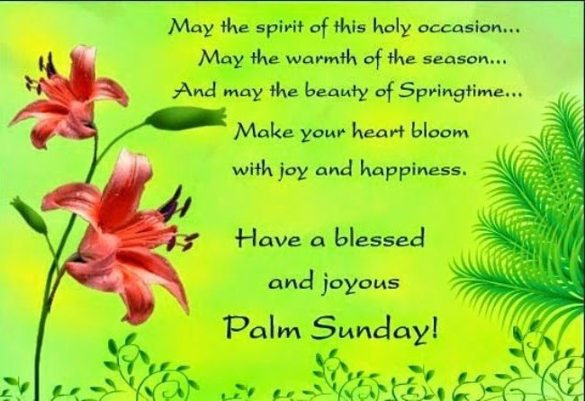 Palm Sunday Wishes, Quotes
