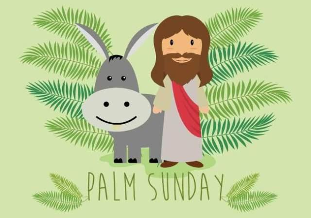 what happened on palm sunday/ history of palm sunday