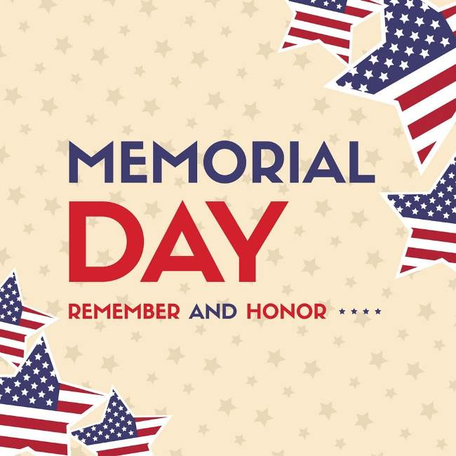 Happy memorial day 2020 images