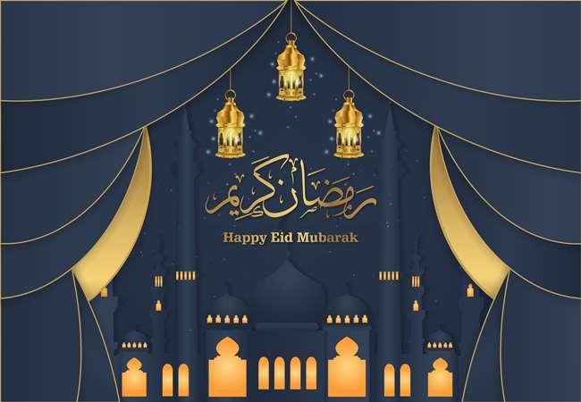 happy eid photo 2020