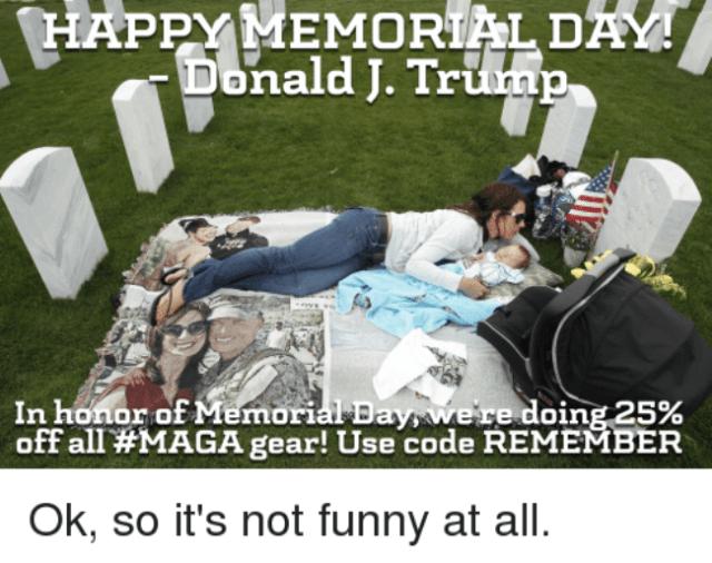 happy memorial day meme 2020
