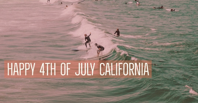 4th of July California