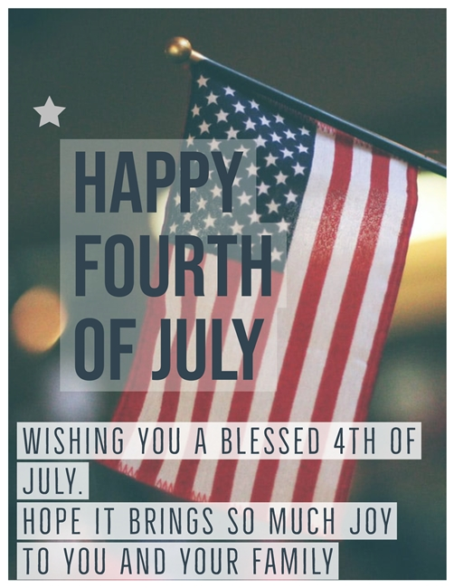 happy 4th of july wishes