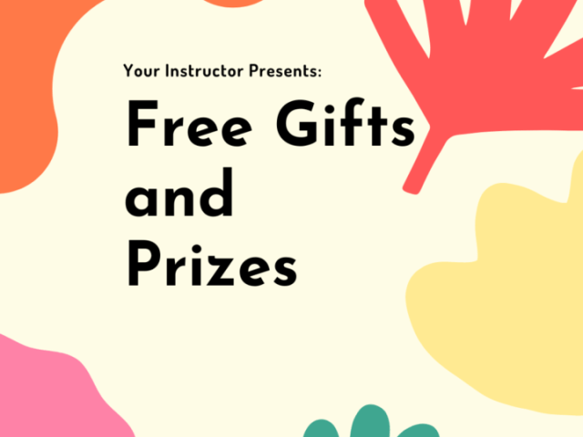 Free Gifts And Prizes Every Weekend