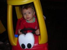 Got his first car!