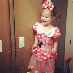 MInnie Mouse on her 2nd birthday!