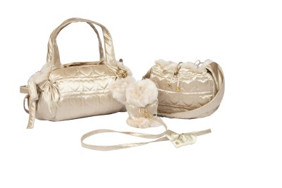 WOW Harness Gold with Beige fur