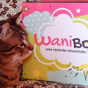 Wanibox rentrée vitaminée septembre octobre 2017