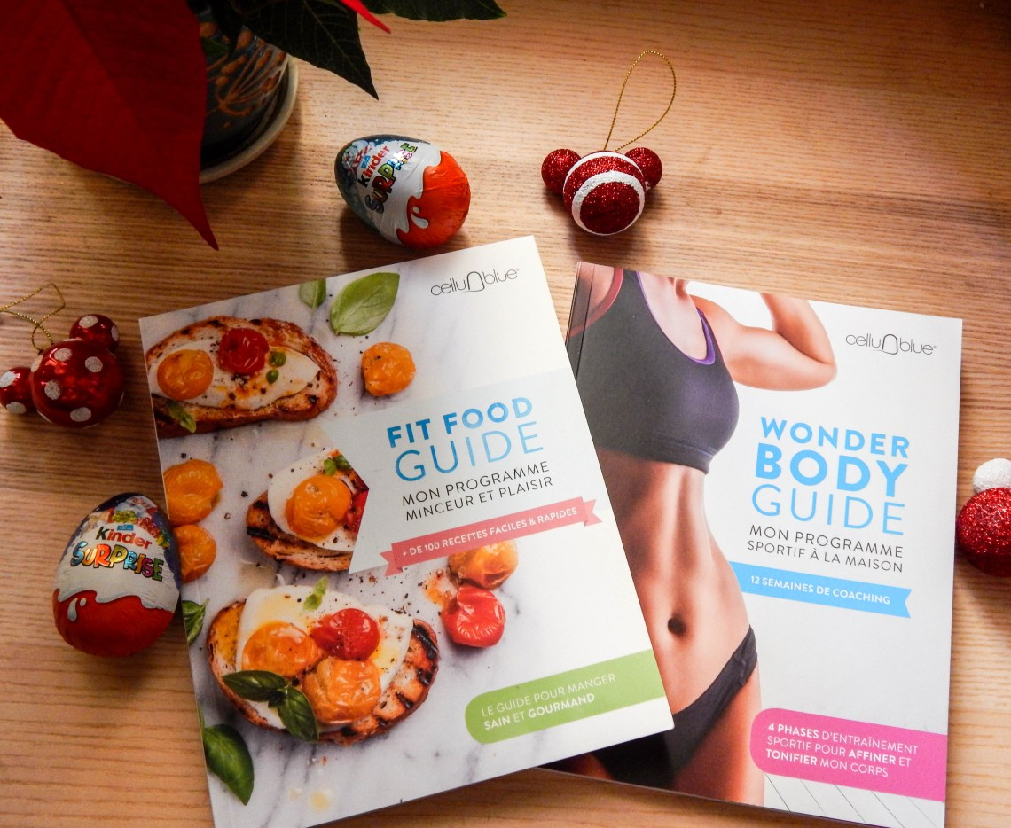 CelluBlue : le Fit Food Guide et le Wonder Body Guide en livre !