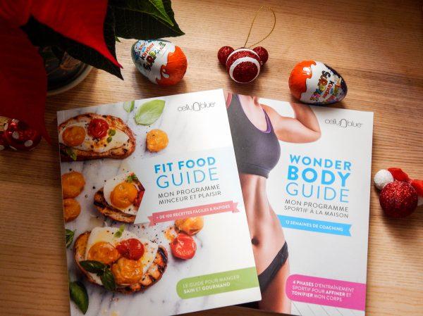 CelluBlue : le Fit Food Guide et le Wonder Body Guide en livre !