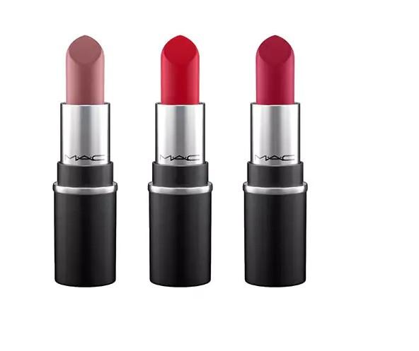 KIT DE MINI ROUGES À LÈVRES / SNOW BALL mac cosmetics