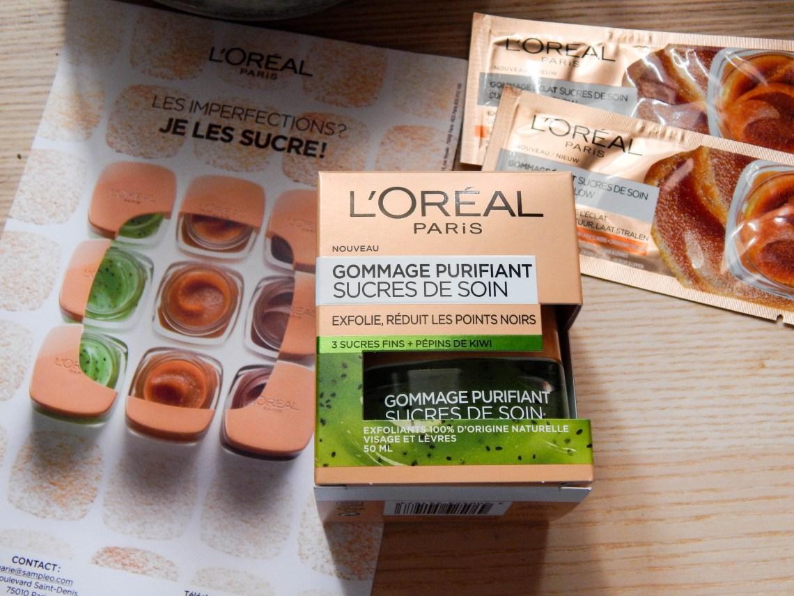 Sucres de Soin Gommage Purifiant L'Oreal
