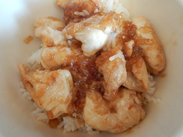 poulet à l'asiatique